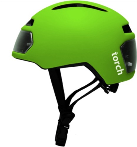 Torch fietshelm Cool Green